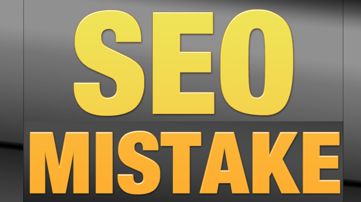 Mistakes with SEO